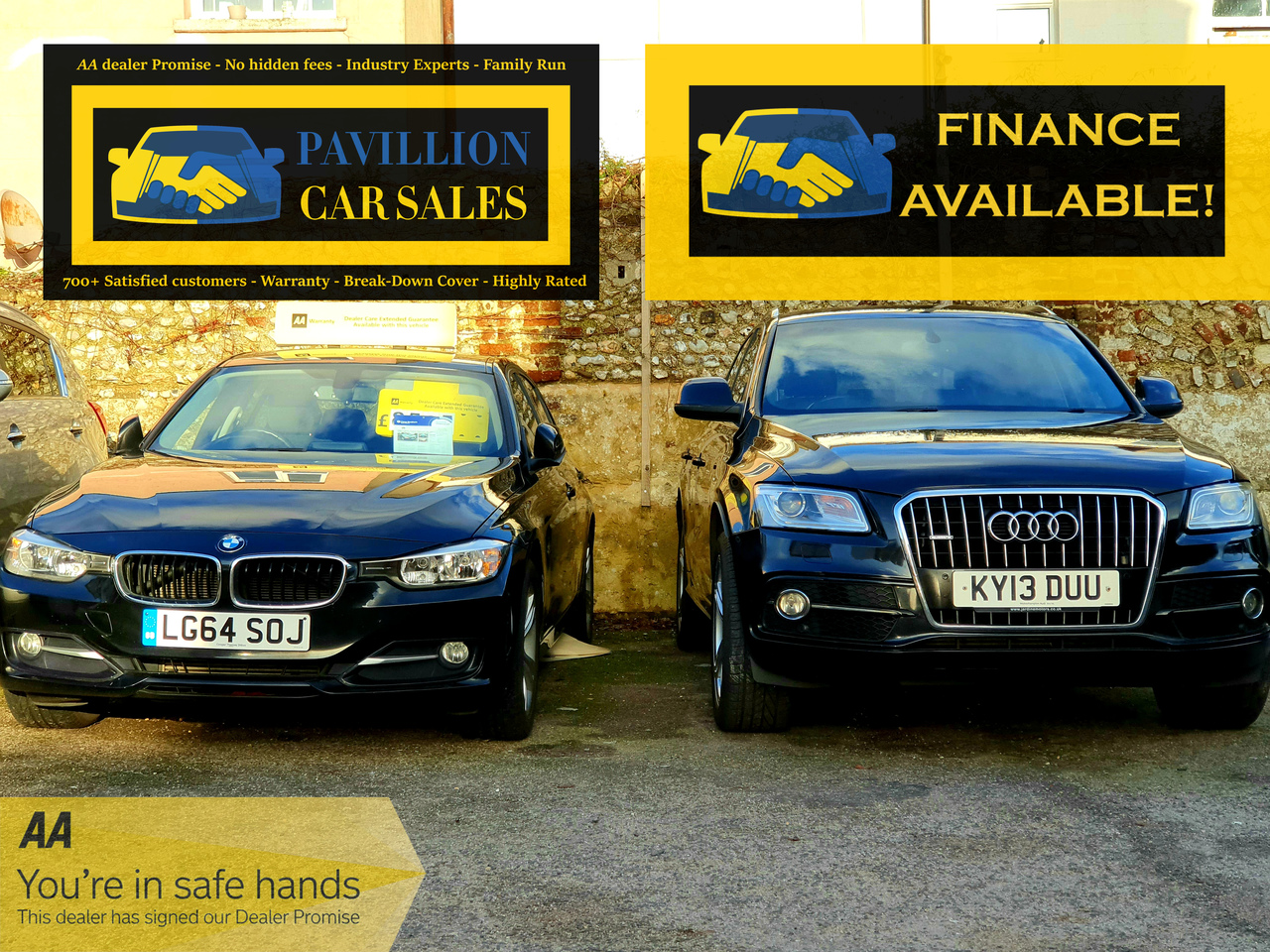 Finance is available on all of our cars!
